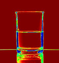 glas half vol of half leeg
