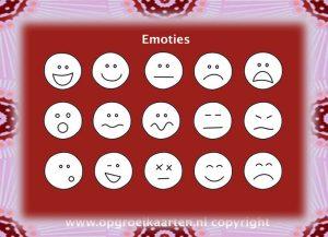 emotiekaart